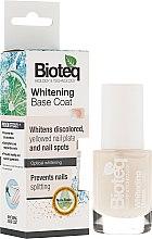Voňavky, Parfémy, kozmetika Báza pre lak bieliaca - Bioteq Whitening Base Coat