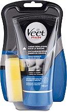 Voňavky, Parfémy, kozmetika Depilačný krém pre mužov v sprche pre citlivú pokožku - Veet Men Silk & Fresh Hair Removal Cream