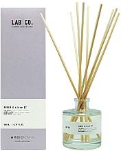 Voňavky, Parfémy, kozmetika Aromatický difúzor - Ambientair Lab Co. Amber & Clove