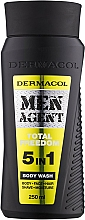 Voňavky, Parfémy, kozmetika Sprchový gél - Dermacol Men Agent Total Freedom 5in1 Body Wash