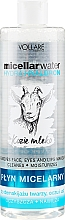 Voňavky, Parfémy, kozmetika Hydratačná micelárna tekutina - Vollare Goat's Milk Micellar Water Hedra Hyaluron