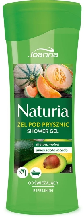"Sprchový gél ""Melón a avokádo"" - Joanna Naturia Melon and Avocado Shower Gel"