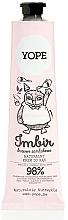 Voňavky, Parfémy, kozmetika Krém na ruky - Yope Imbir Hand Cream