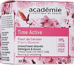 Voňavky, Parfémy, kozmetika Krém na kontúry očí s vyhladzujúcim účinkom - Academie Time Active Cherry Blossom Dynastiane Eye First Care