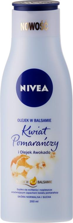 """Telové mlieko """"Pomarančový kvet a avokádový olej"""" - Nivea Sensual Body Lotion Orange Blossom & Avocado Oil"""