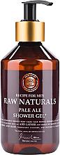 Voňavky, Parfémy, kozmetika Sprchový gél - Recipe For Men RAW Naturals Pale Ale Shower Gel