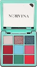 Voňavky, Parfémy, kozmetika Paleta očných tieňov - Anastasia Beverly Hills Norvina Pro Pigment Mini №3