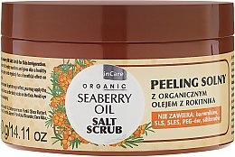 Voňavky, Parfémy, kozmetika Soľ telový peeling - GlySkinCare Organic Seaberry Oil Salt Scrub