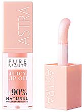 Voňavky, Parfémy, kozmetika Olej na pery - Astra Pure Beauty Juicy Lip Oil