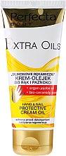 Voňavky, Parfémy, kozmetika Krém-olej na ruky - Perfecta Body Extra Oils Protective Hand Cream Oil