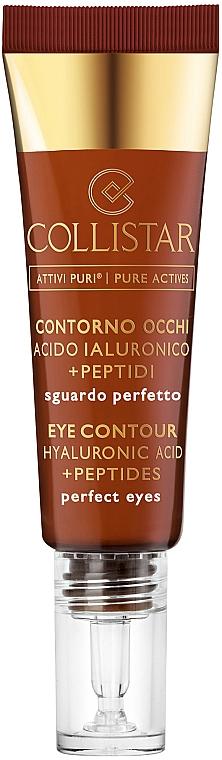 Krém na viečka - Collistar Pure Actives Eye Contour Hyaluronic Acid + Peptides — Obrázky N1
