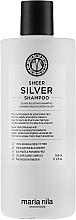 Voňavky, Parfémy, kozmetika Šampón od žltkastosti zafarbených vlasov - Maria Nila Sheer Silver Shampoo