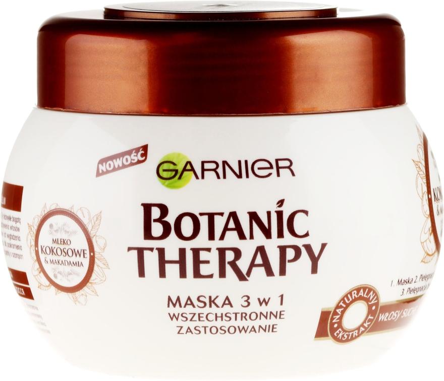 """Maska na vlasy """"Kokosové mlieko a makadamový olej"""" - Garnier Botanic Therapy"""