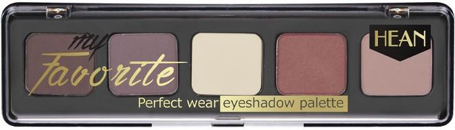 Paleta tieňov na viečka - Hean My favorite Eye Shadow Palette