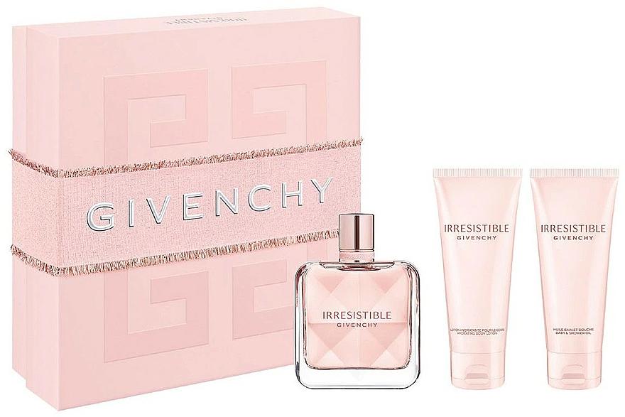 Givenchy Irresistible Givenchy - Sada (edp/80ml + b/lot/75ml + sh/gel/75ml)