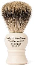 Voňavky, Parfémy, kozmetika Štetka na holenie, P2233, béžová - Taylor of Old Bond Street Shaving Brush Pure Badger size S