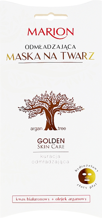Omladzujúca maska - Marion Golden Skin Care Rejuvenating Face Mask