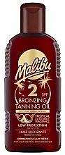 Voňavky, Parfémy, kozmetika Telový olej s účinkom bronzového opálenia - Malibu Bronzing Tanning Oil SPF 2