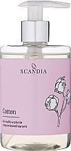 Voňavky, Parfémy, kozmetika Tekuté mydlo s bavlníkovým olejom - Scandia Cosmetics Cotton