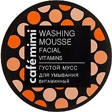 """Voňavky, Parfémy, kozmetika Hustá umývacia pena """"Vitamínová"""" - Cafe Mimi Washing Mousse Facial Vitamins"""