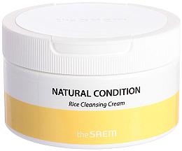 Voňavky, Parfémy, kozmetika Čistiaci ryžový krém - The Saem Natural Condition Rice Cleansing Cream