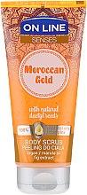 Voňavky, Parfémy, kozmetika Telový peeling - On Line Senses Body Scrub Moroccan Gold