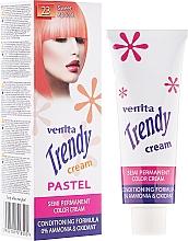 Voňavky, Parfémy, kozmetika Krém-tonér na farbenie vlasov - Venita Trendy Color Cream