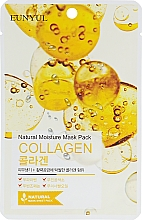 Voňavky, Parfémy, kozmetika Hydratačná textilná maska s kolagénom - Eunyul Natural Moisture Mask Pack Collagen