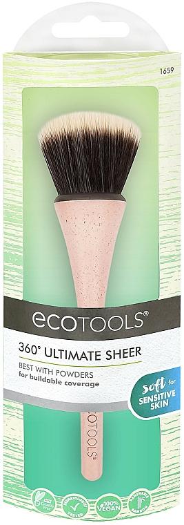 Štetec na púder - EcoTools 360° Ultimate Sheer Brush
