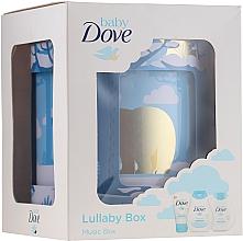 Voňavky, Parfémy, kozmetika Sada - Dove Baby Rich Moisture (shmp/200ml + b/lot/200ml + cr/45g)