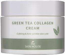 Voňavky, Parfémy, kozmetika Upokojujúci krém na báze kolagénu a extraktu zo zeleného čaju - The Skin House Green Tea Collagen Cream