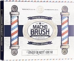 Voňavky, Parfémy, kozmetika Kefa na bradu, oválna - Macho Beard Company Macho Brush