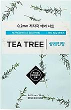 Voňavky, Parfémy, kozmetika Maska na problematickú pleť s extraktom z čajovníka - Etude House Therapy Air Mask Tea Tree