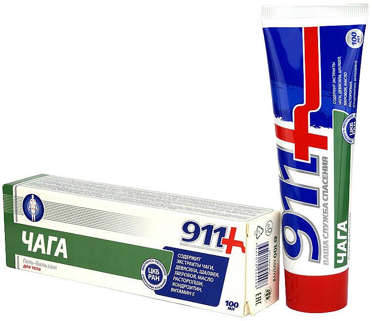 Gélový balzam na telo Čaga - 911