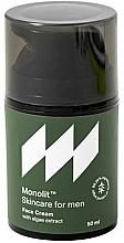 Voňavky, Parfémy, kozmetika Hydratačný krém na tvár s extraktom z morských rias - Monolit Skincare For Men Face Cream With Algae Extract