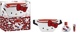 Voňavky, Parfémy, kozmetika EP Line Hello Kitty Set - Sada (parf/50ml + lip/balm/1pcs + bag)