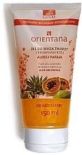 """Voňavky, Parfémy, kozmetika Gél na tvár """"Aloe Vera a Papaya"""" - Orientana Face Gel Cleanser"""