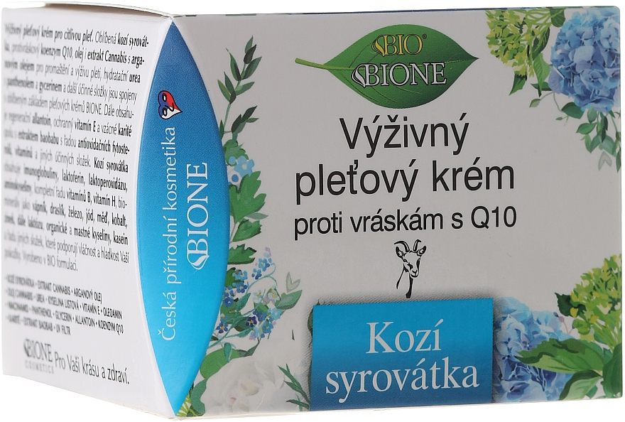 Výživný krém na tvár - Bione Cosmetics Goat Milk Cream — Obrázky N1