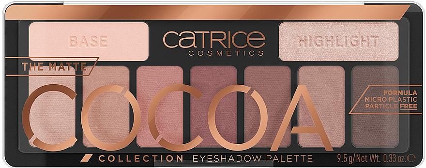 Paleta očných tieňov - Catrice The Matte Cocoa Collection Eyeshadow Palette