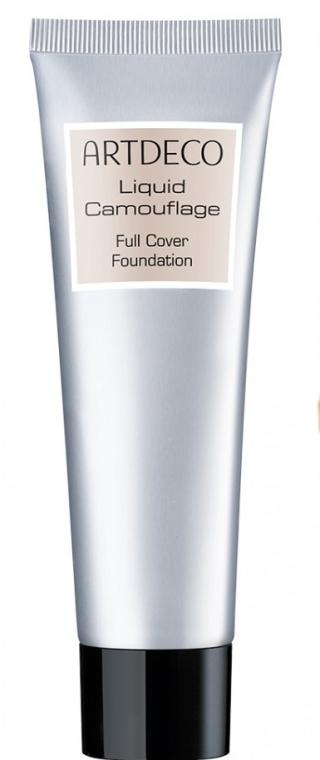 Tekutý maskujúci make-up - Artdeco Liquid Camouflage Full Cover Foundation