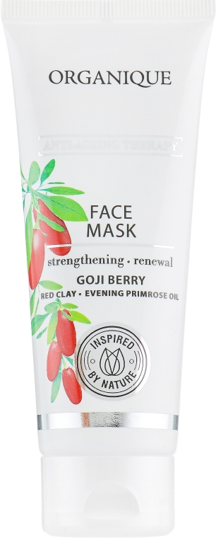 "Maska na tvár ""Anti-Ageing"" - Organique Goji Anti-Ageing Therapy Face Mask — Obrázky N2"