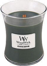 Voňavky, Parfémy, kozmetika Vonná sviečka v pohári - WoodWick Hourglass Candle Evening Bonfire