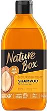 Voňavky, Parfémy, kozmetika Šampón s arganovým olejom na výživnú a intenzívnu starostlivosť o vlasy - Nature Box Nourishment Vegan Shampoo With Cold Pressed Argan Oil