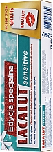 Voňavky, Parfémy, kozmetika Sada - Lacalut Sensitive Special Edition Set (t/paste/75ml + dental/floss)