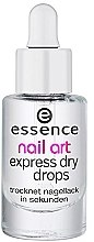 Voňavky, Parfémy, kozmetika Kvapky express-sušička - Essence Circus Circus Nail Art Express Dry Drops