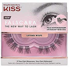 Voňavky, Parfémy, kozmetika Umelé mihalnice, trsy - Kiss Falscara Lengthening Wisps 03