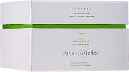 """Voňavky, Parfémy, kozmetika Vonná sviečka """"Inšpirácia"""" s 3 knôtmi - AromaWorks Harmony Candle 3-wick"""