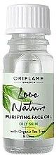 Voňavky, Parfémy, kozmetika Čistiaci olej s organickým čajovníkom a limetkou - Oriflame Love Nature Purifyng Face Oil