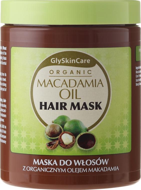 Vlasová maska s organickým makadamovým olejom - GlySkinCare Macadamia Oil Hair Mask