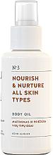 Voňavky, Parfémy, kozmetika Výživný olej na telo pre všetky typy pleti - You & Oil Nourish & Nurture Body Oil